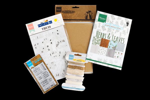 lente, papier, pakket, lentepakket, creatief, DIY