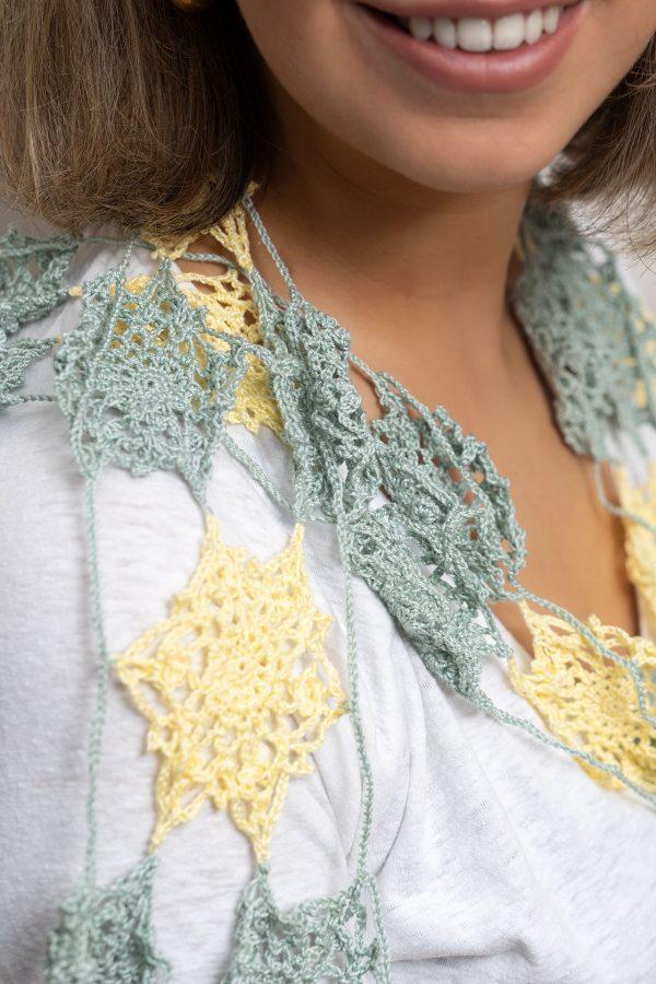 detail sjaal