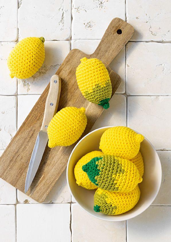 Haakpatroon - citroenen