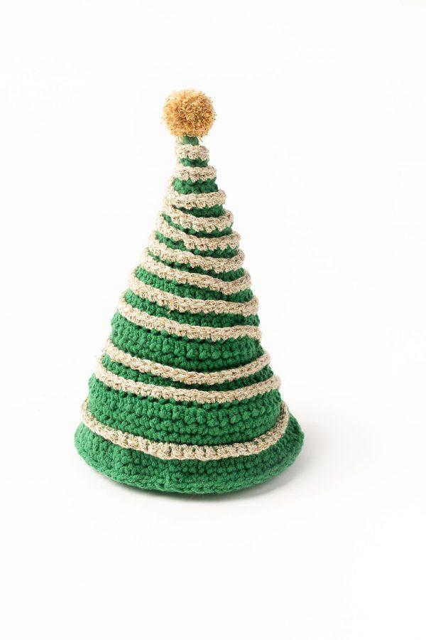 kerstboom met slinger
