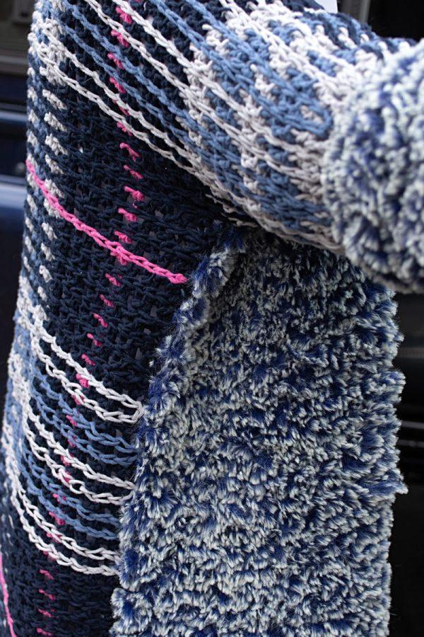 Haakpatroon - Schots furry vest