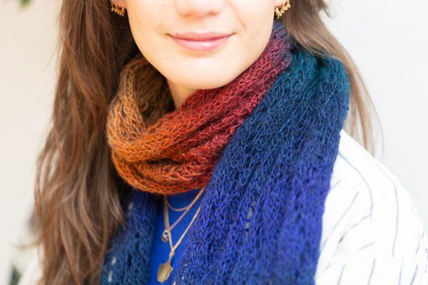 sjaal lengte